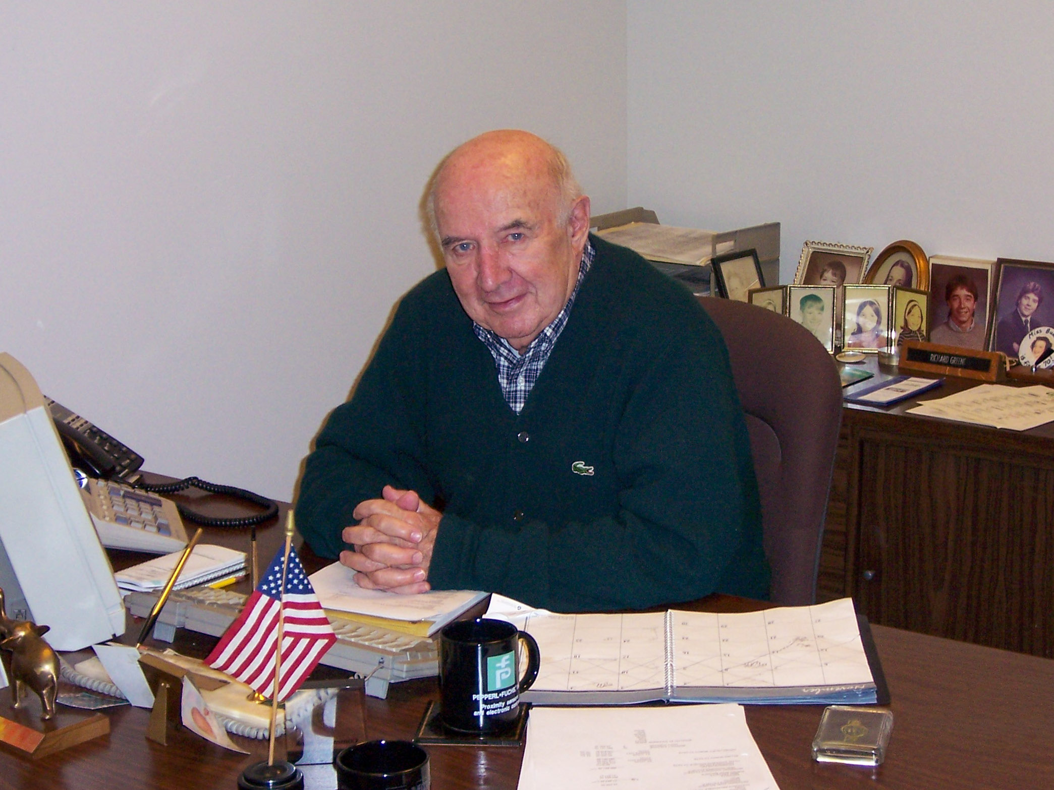 photo of Richard Greene, Company Founder